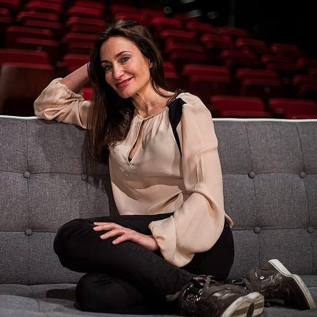 Paola Matienzo en su teatro